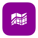 MetroUI Apps Windows8 Maps icon
