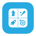 MetroUI Folder OS Game Center icon