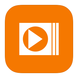 MetroUI Apps Windows MediaPlayer icon