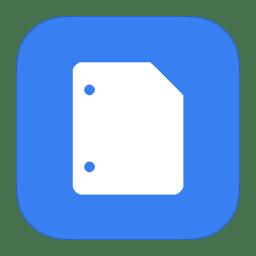 MetroUI Google Docs icon