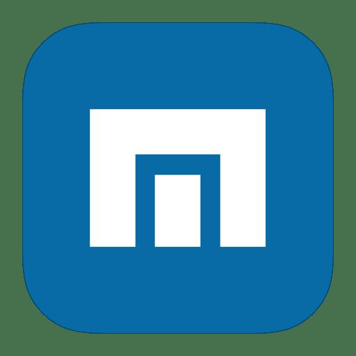 MetroUI-Browser-Maxthon icon