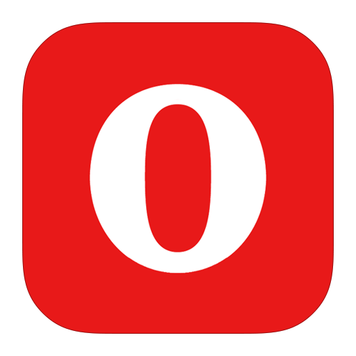 MetroUI-Browser-Opera-Alt icon