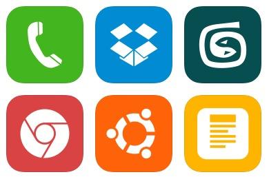iOS7 Style Metro UI Icons