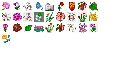Flower 2 Icons