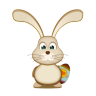 Easter-Bunny-EGG icon