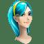 Browser girl internet explorer icon