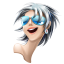 Browser girl safari icon