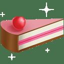 Cake slice 2 icon