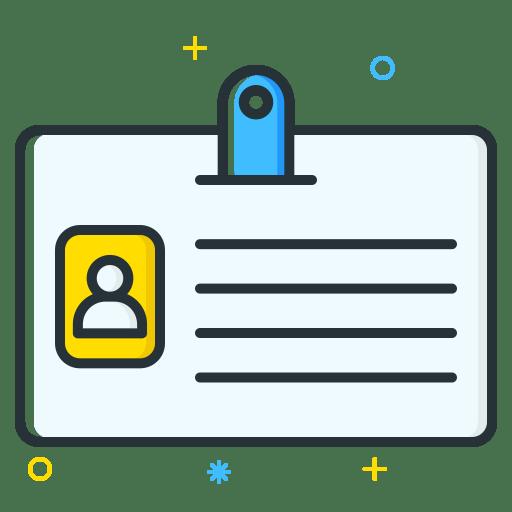Id-card icon