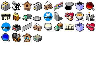 Gomibako Icons