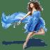 Girls-Blue-Dress icon