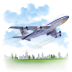 Travel-Airplane icon