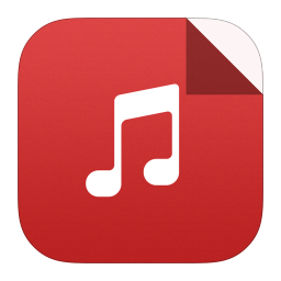 Mp3 Icon Flat Ios7 Style Documents Iconset Iynque