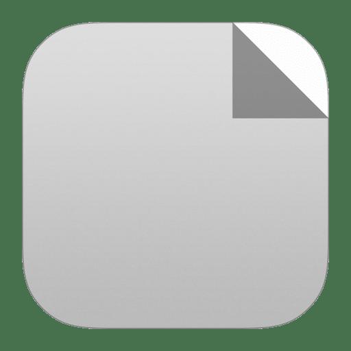 Generic-document icon