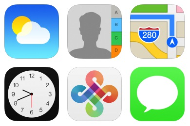 iOS7 Style Icons