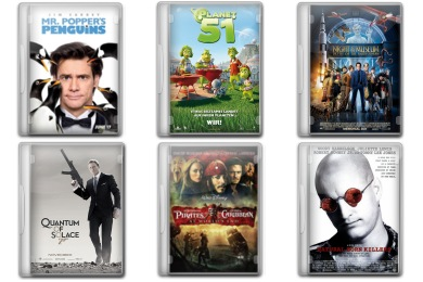 Movie Pack 6 Icons