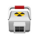 Medical radioactive icon