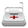 Medical-bed icon
