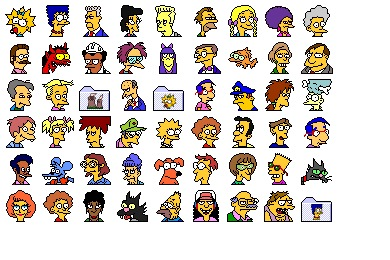 Simpsons Vol. 01 Icons