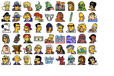 Simpsons Vol. 10 Icons