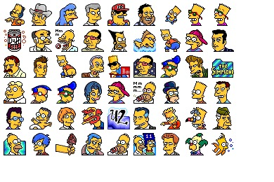 Simpsons Vol. 11 Icons