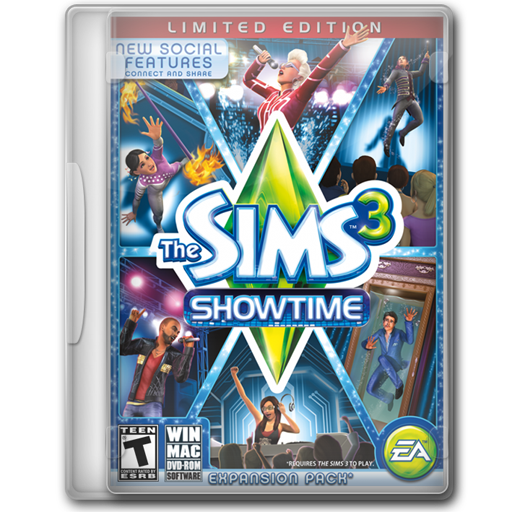 The Sims 3 Showtime Limited Edition icon