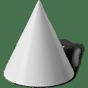 Taper cone icon