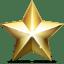 Golden-star icon
