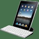 iPad with keyboard icon