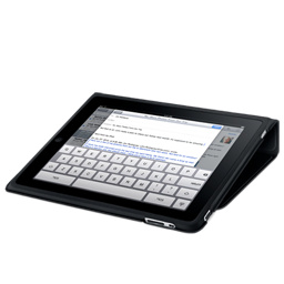 iPad flip case keyboard icon