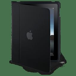 iPad flip case standing icon