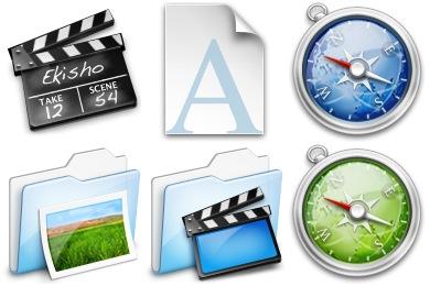 Ekisho Icons