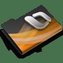 Powerpoint Dark Overlay icon