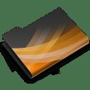 Powerpoint Dark icon