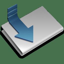 Downloads alt icon