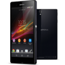 Smartphone Android Jelly Bean Sony Xperia Z Front Back icon