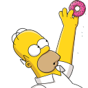 Homer Simpson 02 Donut icon
