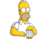 Homer Simpson 03 Beer icon