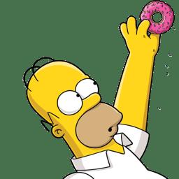 Homer Simpson 02 Donut icon