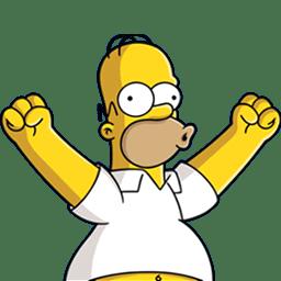 Homer Simpson 04 Happy icon