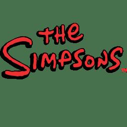 The Simpsons Logo icon