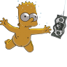 Bart-Simpson-06-Nirvana-Nevermind icon