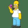 Homer-Simpson-01-Donut icon