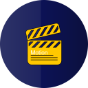 Motion graphics icon