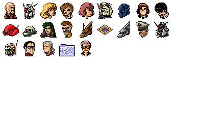 Gundam 0083 Icons