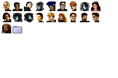 Star Trek TNG Icons