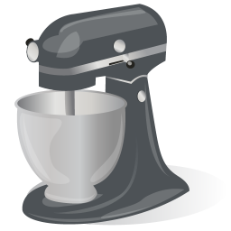 Rotating Stand Mixer icon