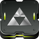 Zelda triforce icon