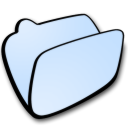 Folder lightblue icon