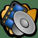 Folder multimedia icon